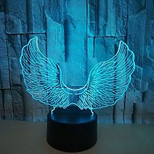 New Angel Wing 3D Visual Table Lamp Living Room