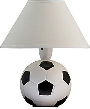 New Beautiful Football Bedside Table Lamp with