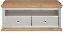 New Burford Storage Coffee Table - Grey/Oak Effect