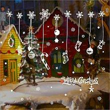 New Christmas Wall Sticker Snowflake Christmas