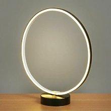New CIRCLE LED Loop Light Table Lamp Bedside Desk
