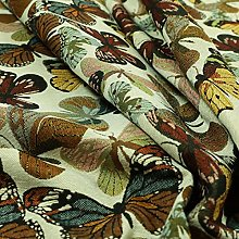 New Colourful All Over Butterfly Pattern Jacquard