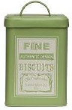 New Design Whitby Biscuit Canister - Green