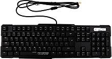 New E-sport Gaming Keyboard Black Switch Light