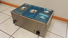 New Electric Commercial Stainless Steel Bain Marie