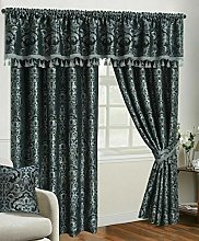 NEW Fully Lined Pencil Pleat Jacquard/Chenille