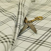 New Furnishing Fabrics Modern Vinyl Tartan Checked