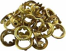 New Grommets Clock Key Hole Dial Brass Finish 10mm