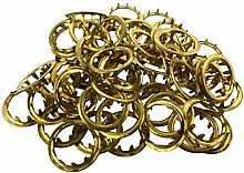 New Grommets Clock Key Hole Dial Brass Finish 12mm