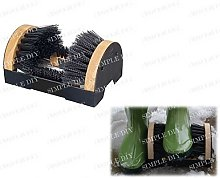 New Heavy Duty Shoe Boot Welly Wiper Brush Scraper