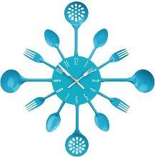 New Home Premier Funky Aqua Blue Metal Cutlery