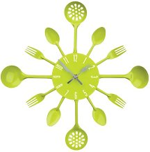 New Home Premier Funky Lime Green Metal Cutlery