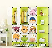 NEW Kids 12 Cubes Wardrobe Childrens Storage