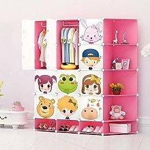 NEW Kids 12 Cubes Wardrobe Childrens Storage