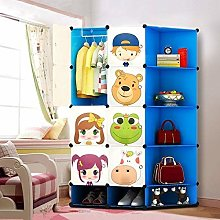 NEW Kids 8 Cubes Wardrobe Childrens Storage