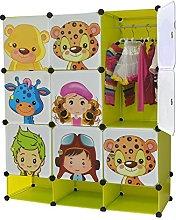 NEW Kids Wardrobe Childrens Storage Cabient Boxes