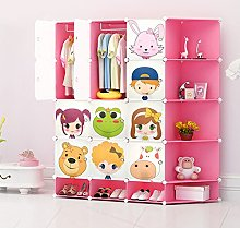 NEW Kids Wardrobe Childrens Storage Cabinet Boxes