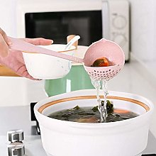 New Kitchen Hot Pot Soup Spoon Colander 2 in 1