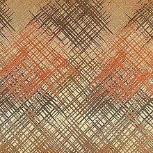 New Lightweight Modern Abstract Pattern Orange