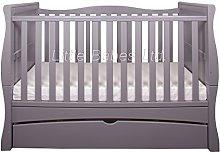 New Little Babes Ltd Grey Convertible Mason Cot