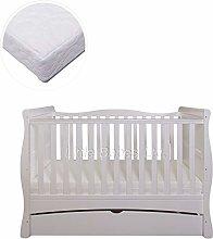 New Little Babes Ltd White Convertible Mason Cot