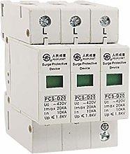 New Lon0167 AC 420V 20KA 3 Poles Lighting Arrester
