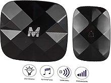 New Lon0167 Waterproof Wireless Doorbell p-Lug AC