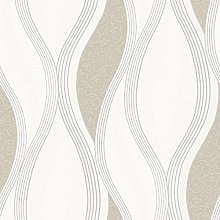 NEW LUXURY DIRECT WALLPAPERS WAVE EMBOSSED