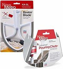 New Metro Design PC-5L Beater Blade for 5 Quart