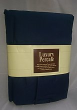 New Navy Blue Cotbed Duvet Cover Set Includes 1