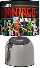 New - Ninjago - Bedside Touch LAMP - Boys Next