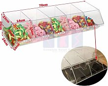 NEW PICK N MIX SWEET ACRYLIC DISPENSER DISPLAY