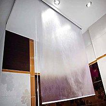 New plain bathroom shower curtain blind extra long