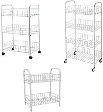 New Rack Fruit Vegetable Storage 2,3,4 Tier