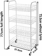 New Rack Fruit Vegetable Storage 4 Tier Kitchen