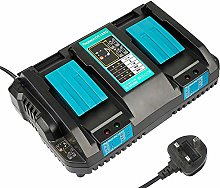 New Replacement 2-in-1 DC18RD Lithium-Ion Dual