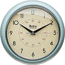 NEW Retro Vintage Diner Round Wall Clock Office