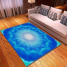 New Rug Decor Blanket 3d Large Area Carpet Blue