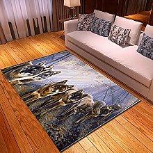 New Rug Decor Blanket Large Area Carpet animal Non
