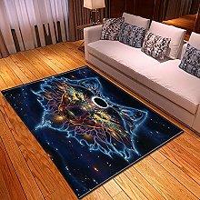 New Rug Decor Blanket Large Area Carpet Blue