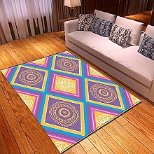 New Rug Decor Blanket Large Area Carpet geometry