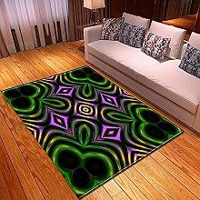 New Rug Decor Blanket Large Area Carpet Green