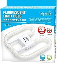 New Set Of 2 Fluorescent Light Bulb 4 Pin Energy