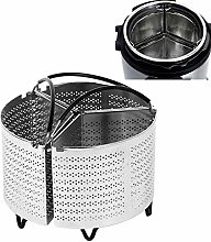 New Steamer Basket for Instant Pot, 6Qt Pressure