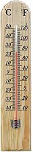 New Traditional Wooden Thermometer Large Hanging