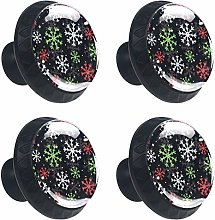 New & Unique Set of 4 Drawer Knobs Colourful Multi