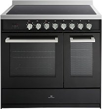 New World CORBETT90EBLK 90cm Electric Range Cooker