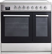 New World CORBETT90ESS 90cm Electric Range Cooker