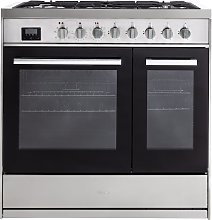 New World LOCHABER90DFSS 90cm Dual Fuel Cooker - S