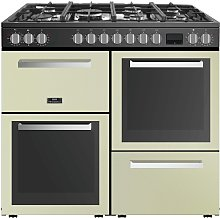 New World LOMOND100DFCRM 100cm Dual Fuel Cooker -